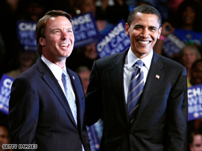 An Obama-Edwards ticket &#039;wont&#039; happen.&#039;