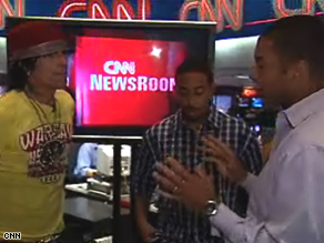 CNN Anchor Don Lemon talks politics with Ludacris and Tommy Lee
