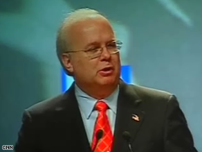 Rove addressed the NRA Convention Friday.