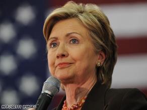 Hillary Clinton heard a sermon on marriage and infidelity at a church service Sunday.
