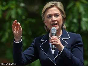 Sen. Hillary Clinton has vowed to stay in the race until all states have a say.