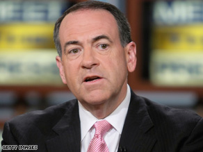 Mike Huckabee says even when he was John McCain's rival, he was always complimentary of him.