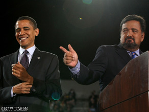 Gov. Richardson endorsed Sen. Obama in March.