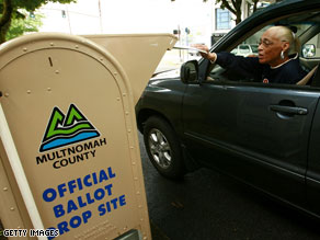 Oregon voters go to the polls in Presidential Primary.