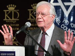 Carter said Sunday the clock was ticking on Clinton's presidential bid.