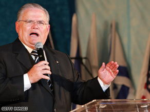 Pastor John Hagee endorsed McCain earlier this year.