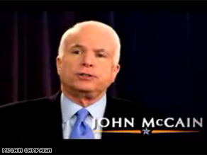 McCain is launching an ad in two key swing states.