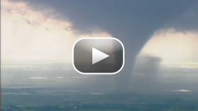 KWTV news chopper pilot Mason Dunn describes how he chased a series of tornados in Oklahoma to get some amazing video
