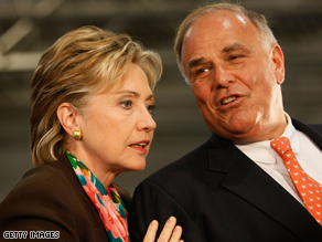 Rendell is a powerful Clinton surrogate.