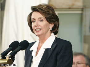 Pelosi says she is prepared to 'step in.'