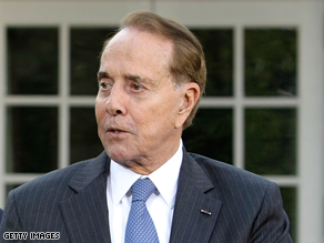 Former Sen. Bob Dole was treated for a leg infection.