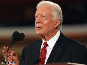 Former President Jimmy Carter suggested Monday that he is superior to other former presidents.