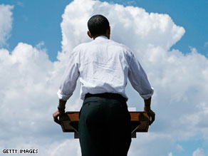 Did the campaign make Obama stronger or weaker?