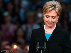 Sen. Hillary Clinton suspended her presidential campaign on Saturday.