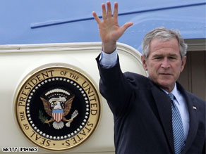 President Bush says he regrets some of his rhetoric in lead-up to Iraq war.