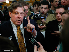 Mark Penn discusses the Clinton campaign's money problems.