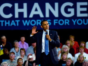 Sen. Obama reminded voters of the rising costs of the Iraq war