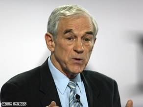 Ron Paul is suspending his presidential campaign.