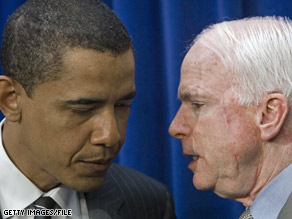 A majority of Americans believe Sen. Obama will best Sen. McCain in November, according to a new Gallup poll.