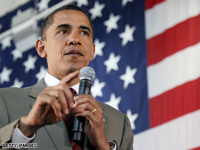 Sen. Obama campaigned in Nevada late last month.