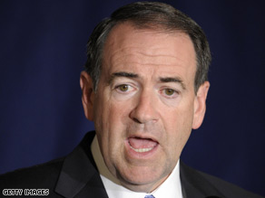 Mike Huckabee said Thursday he is not McCain's vice presidential pick.