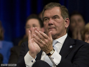 Former Homeland Security Secretary Tom Ridge.