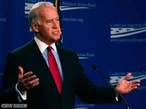 Joe Biden said he would say yes to being VP.