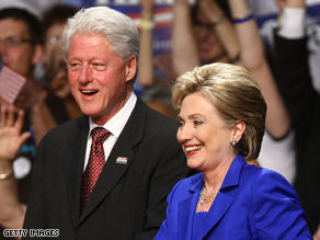 Bill Clinton has not formally endorsed Obama yet.