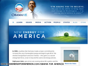 Sen. Obama launched this new Web site Wednesday.