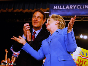 Bayh is a former supporter of Clinton
