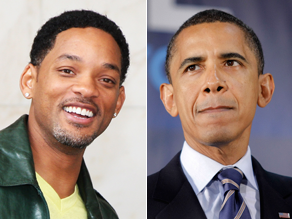Will Smith says he&#039;d make a good Obama.