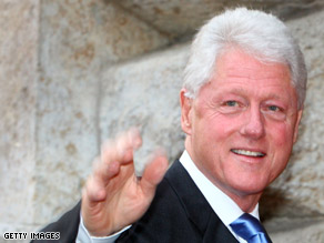 Bill Clinton is helping former DNC chairman Terry McAuliffe campaign for governor in Virginia.