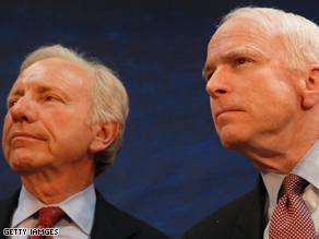 Lieberman is trying to help McCain appeal to independent voters.