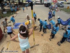 Mulch Mountain at Pontiff Playground