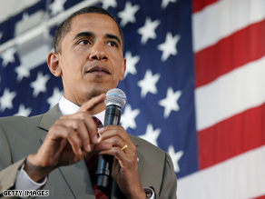 Obama has been looking to emphasize national service.