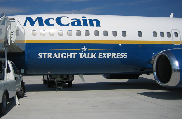 McCain Airplane