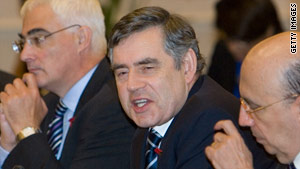 Gordon Brown called banking a unique sector that, when it fails, poses a high cost.