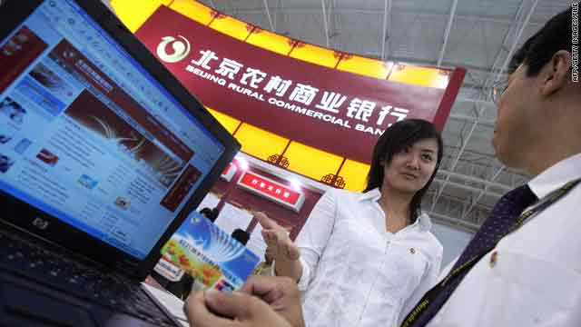 The number of credit cards in China have jumped in years.