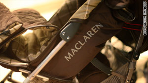 Maclaren says the recall affects nearly one million strollers.