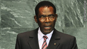Theodoro Obiang Nguema Mbasogo came to power in 1979.