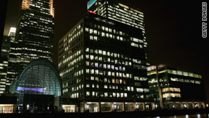 Alistair Darling says London is New York's only rival as a truly global financial center.