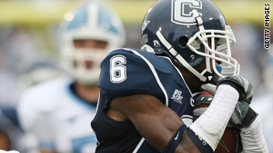 University of Connecticut cornerback Jasper Howard was stabbed the student union around 12:30 a.m.