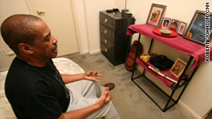 Kenneth Brown, a former inmate, learned to meditate during his nine years in prison.