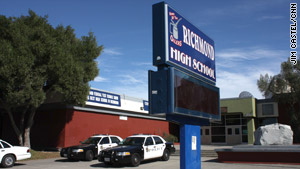 Police say a student at Richmond High School was raped outside during a homecoming dance.