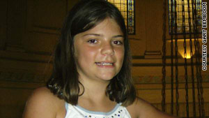 Elizabeth Olten, 9, was remembered as a girl who was always smiling and playing dress up.
