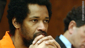 John Allen Muhammad was convicted in an October 2002 sniper-style shooting.