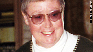 Sister Marguerite Bartz was born in 1945 and professed her final vows in 1974.