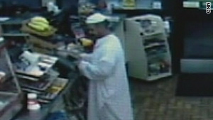 Store video shows suspect before shootings