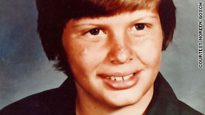 Johnny Gosch, 12, disappeared while delivering the Sunday paper on September 5, 1982.