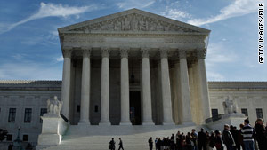 The justices appeared divided over the appeals of two juvenile offenders serving life sentences.